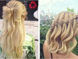 Hairstyles with Hair Left Down 31 Half Up Half Down Prom Hairstyles