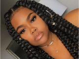 Hairstyles with Jumbo Braids 42 Chunky Cool Jumbo Box Braids Styles In Every Length