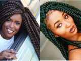 Hairstyles with Jumbo Braids Big Box Braids for Black Women to Style Immediately