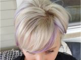 Hairstyles with Lavender Highlights 22 Sassy Purple Highlighted Hairstyles for Short Medium Long Hair