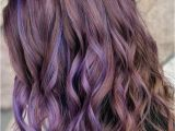 Hairstyles with Lavender Highlights 33 Charming and Chic Options for Brown Hair with Highlights