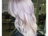 Hairstyles with Lavender Highlights Lavender Blonde Pretties Pinterest