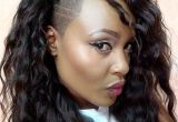 Hairstyles with Shaved Sides for Black Women Curly Hair with Side Shave Hair In 2018 Pinterest