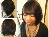 Hairstyles with Weave and Bangs Style