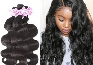 Hairstyles with Weave Extensions Luvin Brazilian Hair Weave Bundles Remy Hair 3 Bundles Lots Body