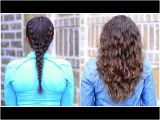 Hairstyles without Braids Boxer Braid No Heat Curls Cute Girls Hairstyles