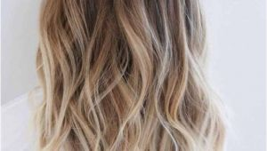 Hairstyles without Dying Roots Ombre Blonde Long Curly Hair Hairstyle Dark Root