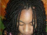 Hairstyles Yarn Braids Kinky Twist Hairstyles