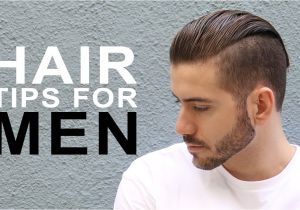 Hairstyling Tips for Men Healthy Hair Tips for Men Men S Hair Care