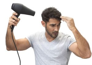 Hairstyling Tips for Men why All Men Should Use A Hairdryer to Style their Hair