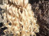 Half Braided Half Curly Hairstyles 31 Half Up Half Down Hairstyles for Bridesmaids