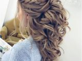 Half Braided Half Curly Hairstyles 50 Half Up Half Down Hairstyles for Everyday and Party Looks