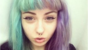 Half Dyed Hairstyles Tumblr Short Blue Hair Tumblr Awesome People In 2018 Pinterest