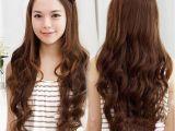 Half Straight Half Curly Hairstyles Half Curly Half Straight Hair Women Long Wavy Curly Half