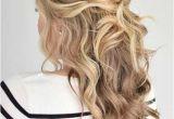 Half Up Curly Hairstyles Medium Hair 31 Half Up Half Down Prom Hairstyles