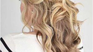 Half Up Curly Hairstyles Medium Hair 31 Half Up Half Down Prom Hairstyles