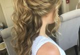 Half Up Curly Hairstyles Medium Hair Find Out Full Gallery Of Wonderful Half Updos for Medium Hair