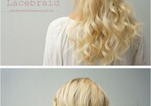 Half Up Hairstyles Diy Half Updo Lace Braid
