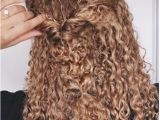 Half Up Hairstyles for Naturally Curly Hair Curly Hairstyles Natural Hair 3b 3c Curls Half Updo Braids