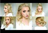 Half Up Hairstyles Youtube Cute Summer Half Up Half Down Hairstyle Dutch Fishtail Braid