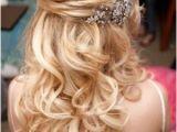 Half Up Half Down Hairstyles On Pinterest Half Updo Hairstyles for Prom Half Up Half Down Prom Hairstyles
