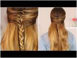 Half Up Half Down Hairstyles On Youtube 182 Best Hair Tutorials Images