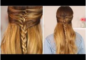 Half Up Half Down Hairstyles On Youtube 182 Best Hair Tutorials Images