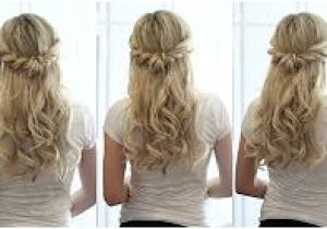 Half Up Half Down Hairstyles On Youtube Bridal Hair Tutorial Half Up Half Down