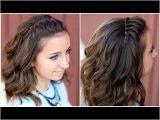 Half Up Half Down Hairstyles On Youtube Diy Faux Waterfall Headband