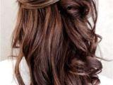 Half Up Medium Curly Hairstyles 55 Stunning Half Up Half Down Hairstyles Prom Hair