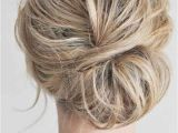 Half Up Messy Bun Hairstyles Cool Updo Hairstyles for Women with Short Hair Beauty Dept