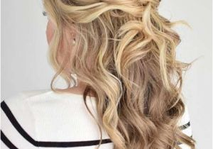 Half Up Messy Hairstyles 31 Half Up Half Down Prom Hairstyles Stayglam Hairstyles