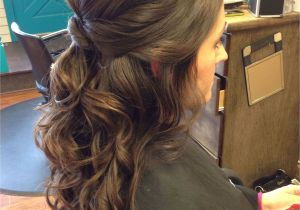 Half Up Messy Hairstyles Flower Girl Hairstyles Half Up Half Down Awesome 15 Gorgeous Half Up
