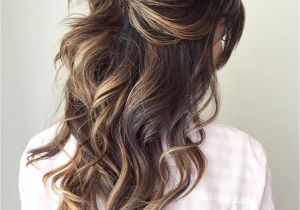 Half Up Messy Hairstyles Half Up Half Down Wedding Hairstyles – 50 Stylish Ideas for Brides