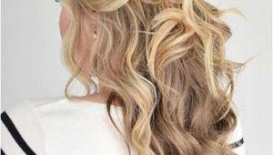 Half Up Prom Hairstyles for Medium Length Hair 31 Half Up Half Down Prom Hairstyles