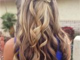 Half Up Prom Hairstyles for Short Hair Prom Hairstyles for Long Hair Half Up Half Down Leymatson