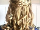Half Up Romantic Hairstyles 114 Best Half Up Half Down with Braids Images