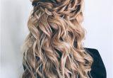 Half Up Romantic Hairstyles 44 Gorgeous Half Up Half Down Hairstyles Pinterest