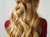 Half Up Romantic Hairstyles Women Hairstyles Over 50 Afro Hairstyles 4c Hair