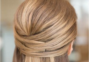 Half Up Straight Hairstyles for Weddings 15 Casual & Simple Hairstyles that are Half Up Half Down