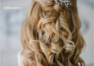 Half Up Straight Hairstyles for Weddings 20 Awesome Half Up Half Down Wedding Hairstyle Ideas