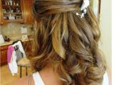 Half Up Straight Hairstyles for Weddings Half Up Half Down Wedding Updos Hairstyles for Medium