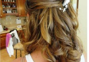 Half Up Straight Hairstyles for Weddings Half Up Half Down Wedding Updos Hairstyles for Medium