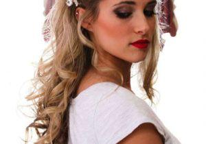Half Up Vintage Hairstyles Pin by Lana B On White Wedding Pinterest
