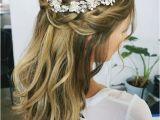 Half Updo Bridal Hairstyles 32 Pretty Half Up Half Down Hairstyles – Partial Updo Wedding