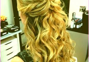 Half Updo Hairstyles for Prom Appealing 23 Prom Hairstyles Half Up Half Down