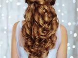 Half Updo Hairstyles for Weddings 25 Elegant Half Updo Wedding Hairstyles Crazyforus