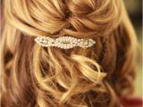 Half Updo Hairstyles Medium Length Hair Wedding Hairstyles Half Up Half Down Medium Length