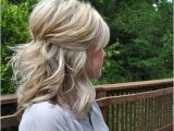 Half Updo Hairstyles Shoulder Length Hair 35 Pretty Half Updo Wedding Hairstyles My Style In 2019