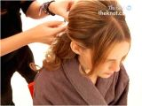 Half Updo Hairstyles Youtube How to Create A Half Up Half Down Wedding Day Hairstyle the Knot
